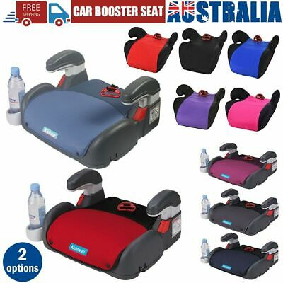 Car Booster Seat Chair Cushion Pad For Toddler Children Kids 3-12 Years Safe