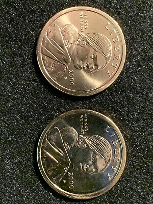 2006 P/&D Native American Indian One Dollar Sacagawea Coins US Mint Coin Money