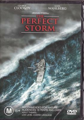The Perfect Storm - George Clooney - New & Sealed Region 4 Dvd Free Local Post