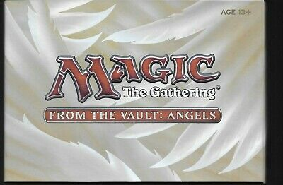 MTG FROM THE VAULT ANGELS & 1 Throne of Eldraine Collectors Booster, Both Sealed
