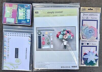 Stampin' Up! Simply Created Build a Bouquet Kit & Creative Memories craft bulk