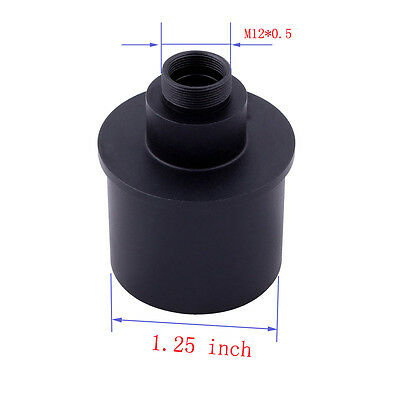 "Webcam Adapter for Telescope 1.25"" Thread Good For Taking Video Capture of Moon"