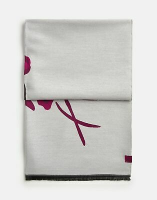 Joules Jacquelyn Ruby Bircham Jacquard Bunch Scarf New
