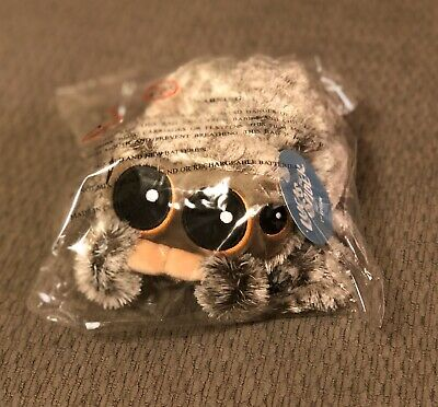 Lucas The Spider Plush 1st Edition NEW Toy Voice Box Not Working Grey