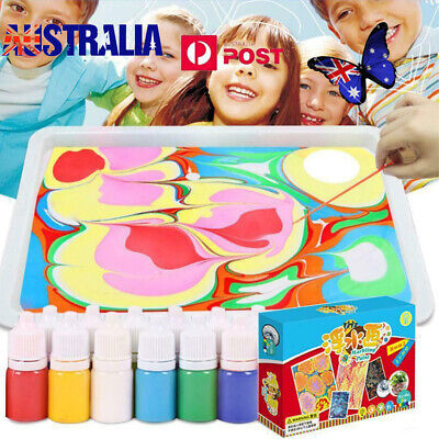 20pcs Water Color Pen Drawing Painting Art Crayon Set for Kids Crafts Kit Gift E