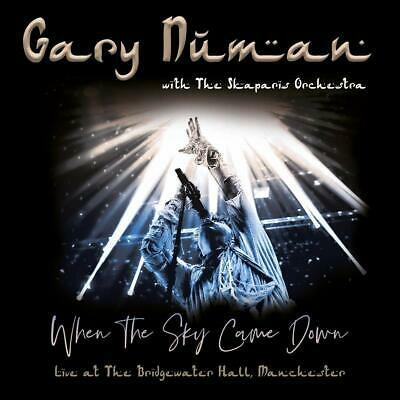 Gary Numan  Skapari - When Sky Came Down (Live)2CD  DVD Sent Sameday*