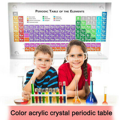 Acrylic Periodic Table Of Elements Table Display, with Elements Kids Teachi 170