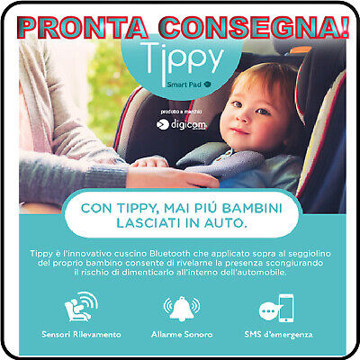 SmartPad Tippy Dispositivo Anti Abbandono Digicom  - Pronta Consegna!