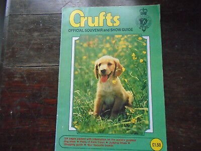 Crufts official guide 1985.