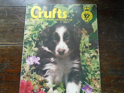 Crufts official guide 1987.