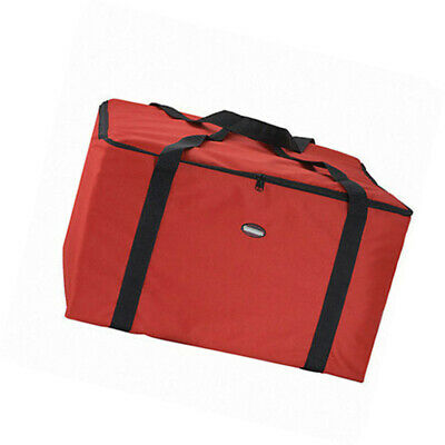"""RED Pizza Delivery Bag Thermal Insulated-Foam Food-Storage Carrying 22"""" Inch"""