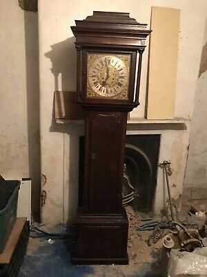 Victorian Oak Cased Longcase Clock