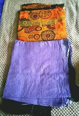 2 X Womens Lovely Quality Makes Scarves East And Coast