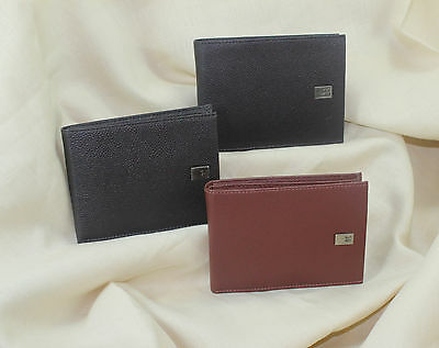 Leather Wallets Man, Card Case Coin Purse Zipper Leather Wallet