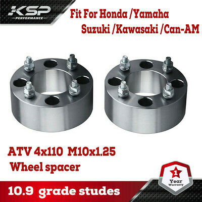 YAMAHA RHINO BILLET WHEEL SPACERS 2 INCHES WIDE 2 SETS 4 PCS 100/% AMERICAN MADE