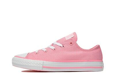 Converse All Star OX Sparkle Kids Trainers (UK 2 /EUR 34/CM 21/US 2.5 )-Brand NW