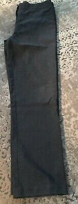girls grey school trousers age 10 From BHS