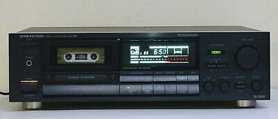 Vintage ONKYO 3 Head High Quality Stereo Cassette Deck, made in Japan