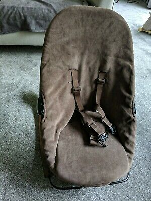 BLOOM Coco Go Rocker RRP:£180 -  Brown Recline Baby bouncer with vibration