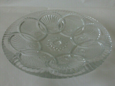Antique Diamond Cut Heavy Quality Lead Crystal Glass Centrepiece Bowl - Baroque