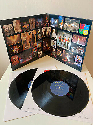 Queen Greatest Hits Vol.ii Double Vinyl Lp Rock Remastered