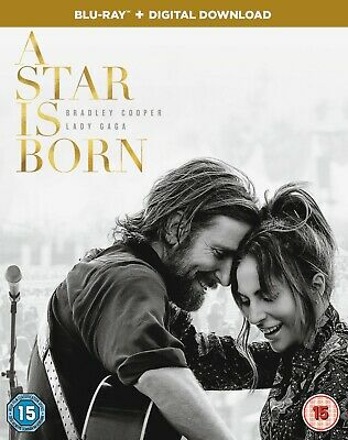 A Star is Born (Blu-ray + Digital Download) [2018] Bradley Cooper/Lady Gaga