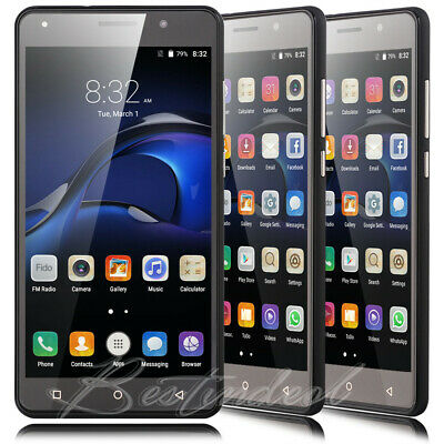 """5.5"""" Cheap Android 5.1 Cell phone 2SIM Quad Core WiFi 3G GSM Unlocked Smartphone"""
