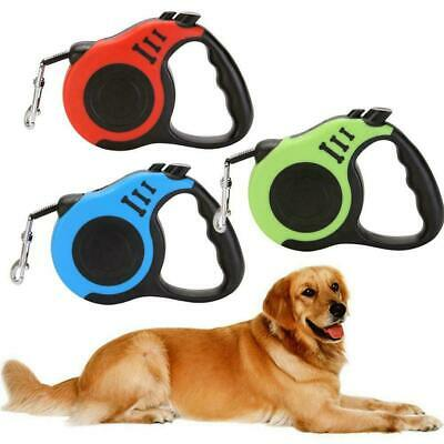Dog Leash Retractable Walking Collar Automatic Traction Small Rope Pet Q4I7