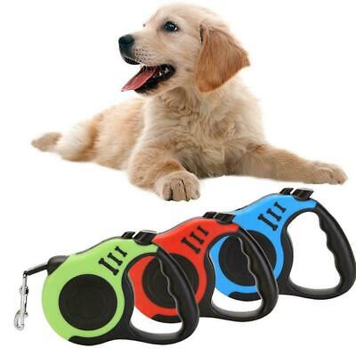 Hot Dog Leash Retractable Walking Collar Automatic Traction Rope Pet Small F8W8