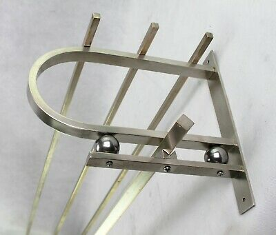 Vintage Wardrobe - Coat Rack - Art Deco Wall Coat Rack