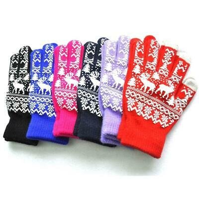 Christmas Deer Winter Gloves