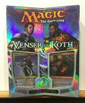 Duel deck Venser VS Koth Ingles English MTG