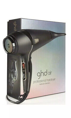 New!! GHD Air Professional Hairdryer Festival Collection Unisex Hairstlyling!!