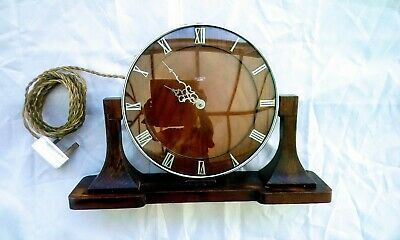 Smith's Sectric Electric Mantel Clock  good working order