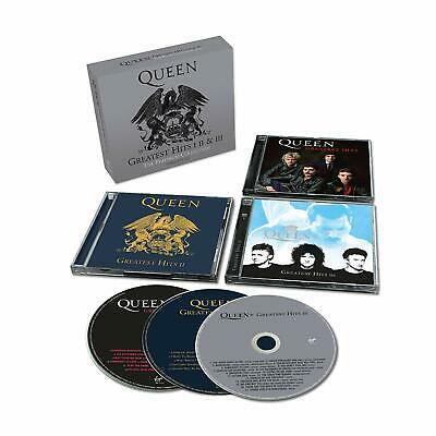 Queen - Greatest Hits I, Ii & Iii (Platinum Collection) [Remastered 3 Cd] New