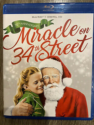 Miracle On 34th Street 1947 Blu-Ray +Case+Artwork Does Not Include Digital Copy