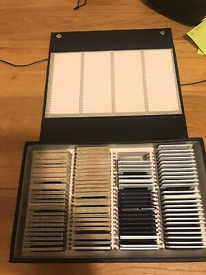 145 Vintage 35mm Slides In Box