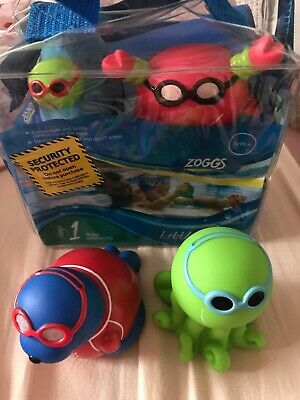 Zoggs Little Squirts Stage 1 Baby Learning Toys Encourage Swimming Squirt Water.