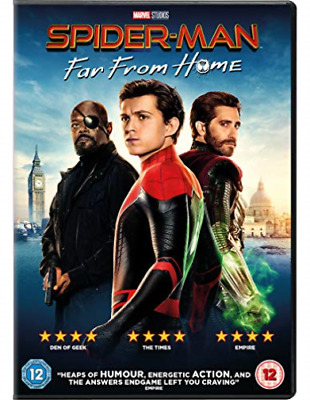 Spider Man Far From Home DVD NEW