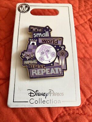 Disney Parks It's A Small World Repeat Repeat Repeat! Pin