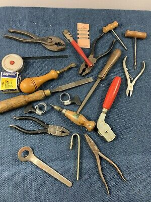 Joblot Bundle Vintage Leather Making Tools Equipment
