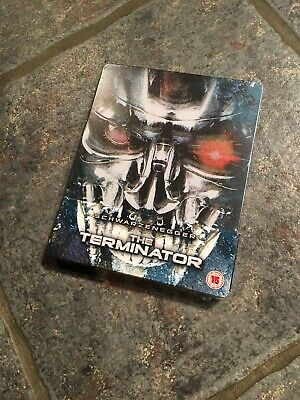 The Terminator Zavvi Exclusive Steelbook Blu Ray OOP AVAILABLE NOW - SEALED