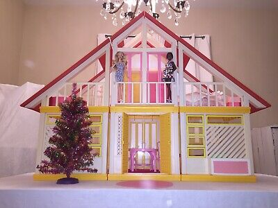 Barbie Dream House Vintage - MERRY CHRISTMAS! RESTORED and FULLY LOADED!