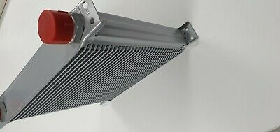 Performance Oil Cooler 13 Row - 330mm, 3/4 BSP, kit car- Silver, Mocal Universal