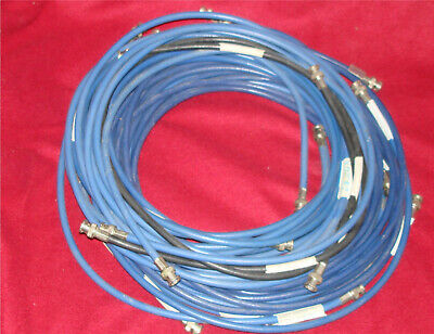 Lot of Twelve Assorted Video Cables with BNC Connectors!