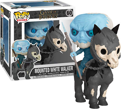 Funko POP Game of Thrones Mounted White Walker #60
