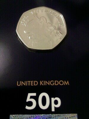 2018 Brilliant Uncirculated Beatrix Potter Mrs Tittlemouse 50p Fifty Pence Coin