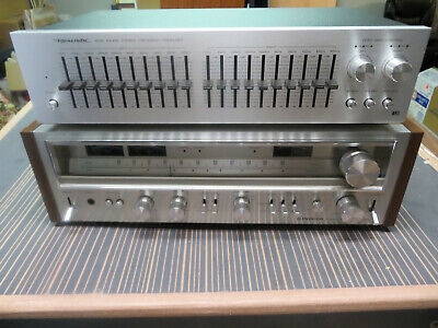 Realistic Wide Range Stereo Frequency Equalizer Model 31-2000A Very Nice!
