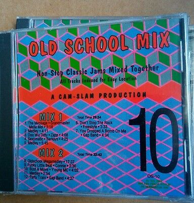 Mixx-It Old School Mix 10 Cd Melle Mel Connie Freestyle Zapp Young Mc Gap Band