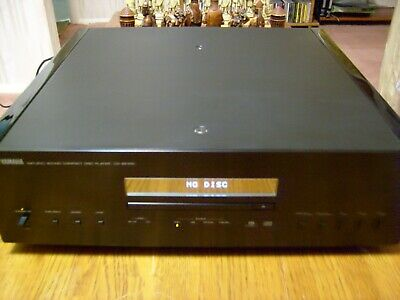 Yamaha CD-S2100 Compact disc player Black